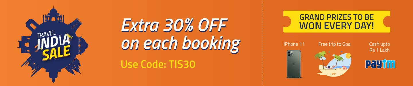 HOTEL BOOKING   Extra 30% Off on Hotel Bookings